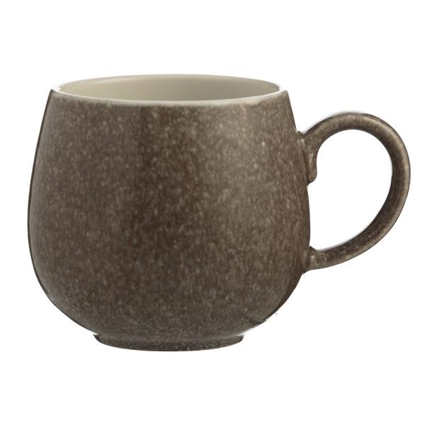 Чашка reactive 350 мл коричневая