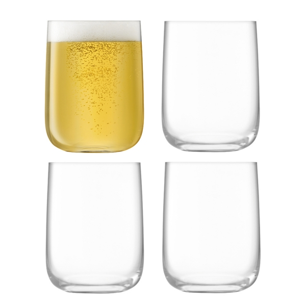Набор из 4 стаканов borough 625 мл