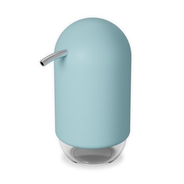 Диспенсер для мыла touch голубой