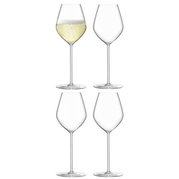 Набор из 4 бокалов для шампанского borough 285 мл