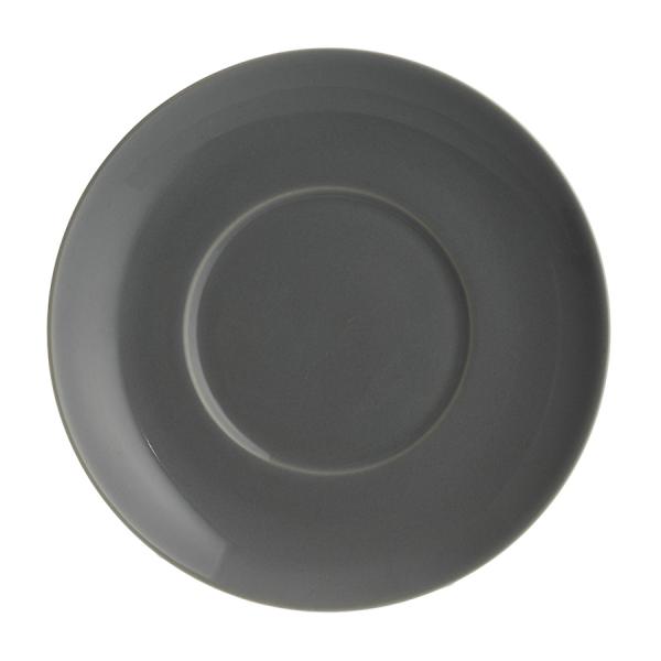 Блюдце cafe concept d 14 см темно-серое