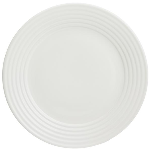 Тарелка обеденная living d 27 см кремовая