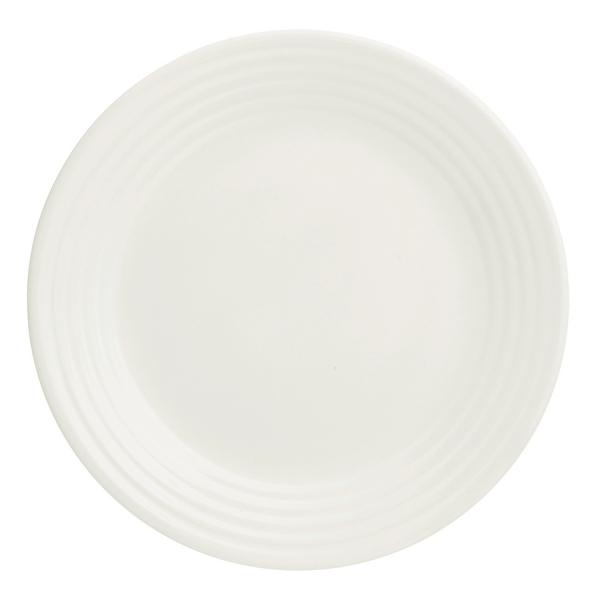 Тарелка living d 21 см кремовая