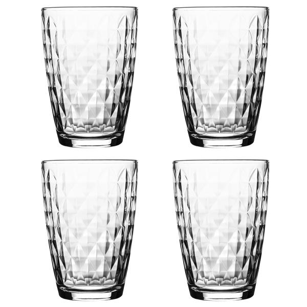 Набор из 4 стаканов jewel 380 мл