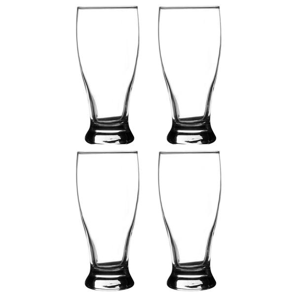 Набор из 4 бокалов для пива entertain 530 мл
