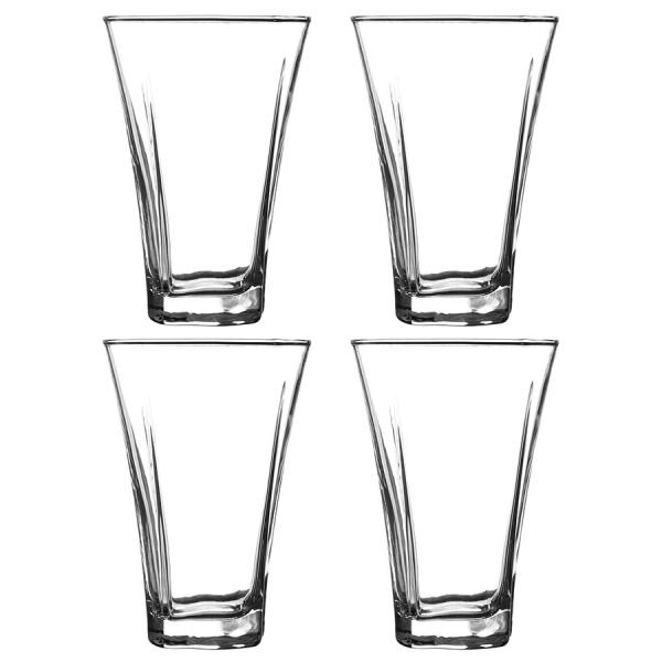 Набор из 4 стаканов luna 300 мл
