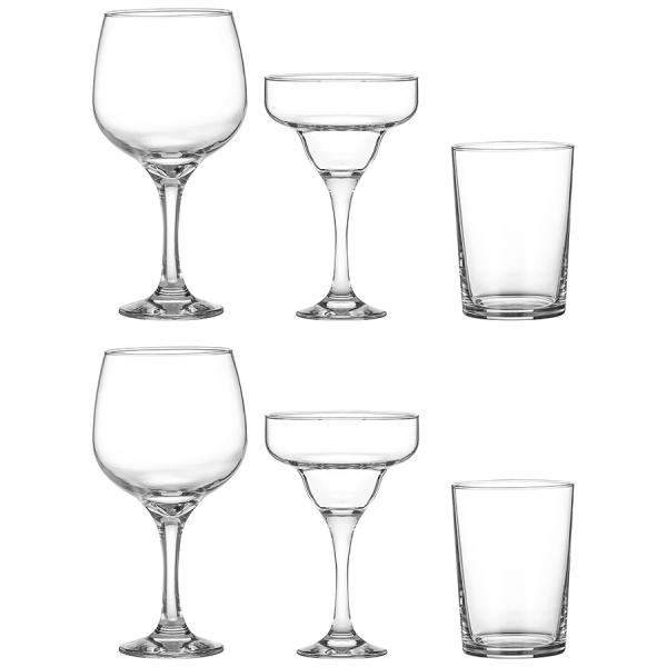 Набор из 6 бокалов для коктейлей entertain