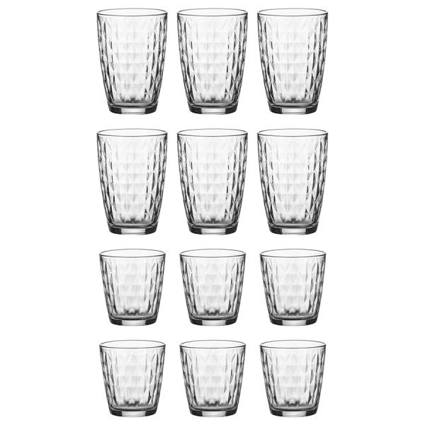 Набор из 12 стаканов jewel 380 и 270 мл