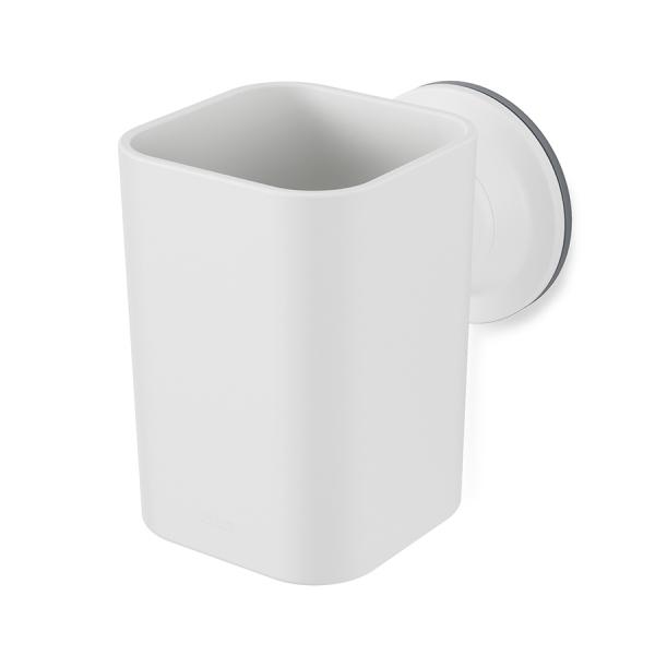Стакан для зубных щеток flex белый