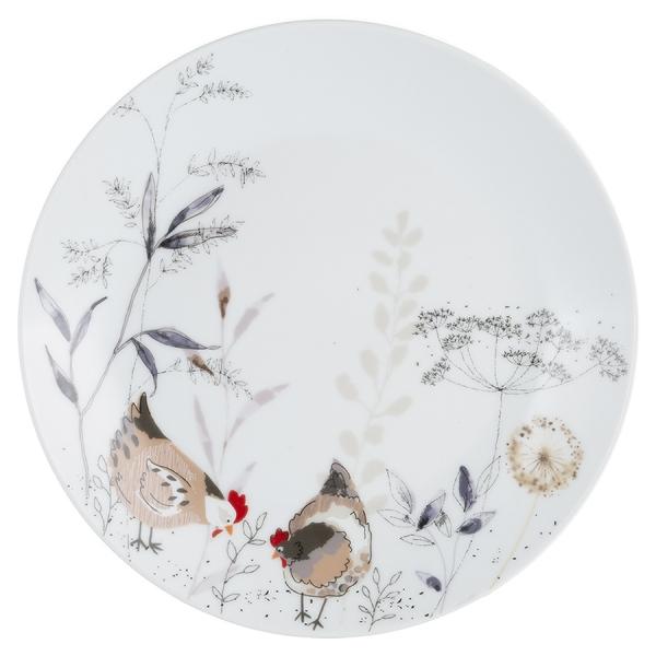 Тарелка country hens d 20,5 см