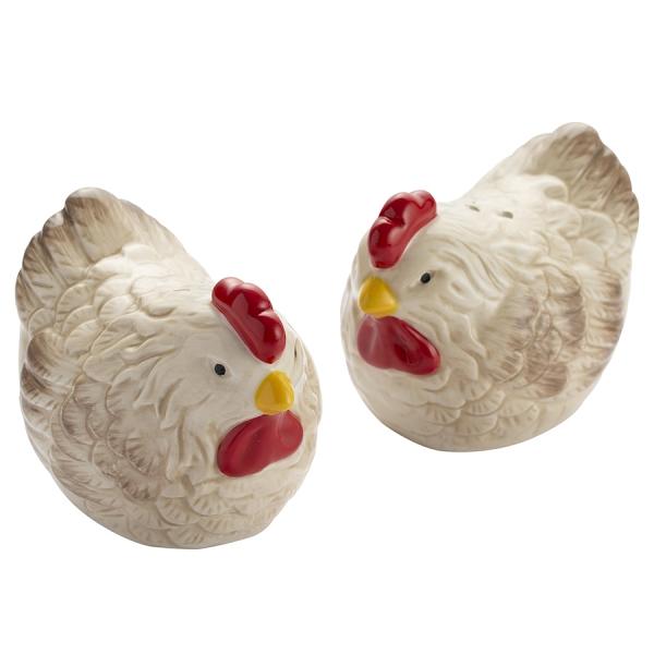 Набор из солонки и перечницы country hens