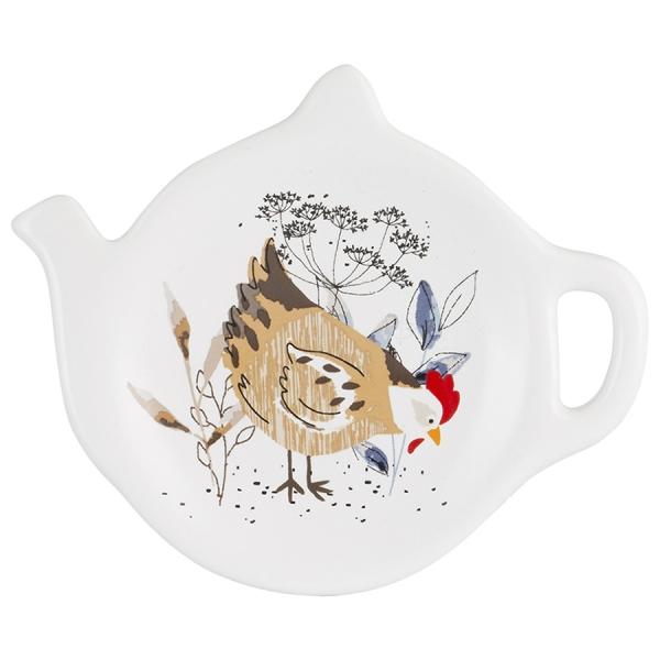 Блюдце для чайных пакетиков country hens