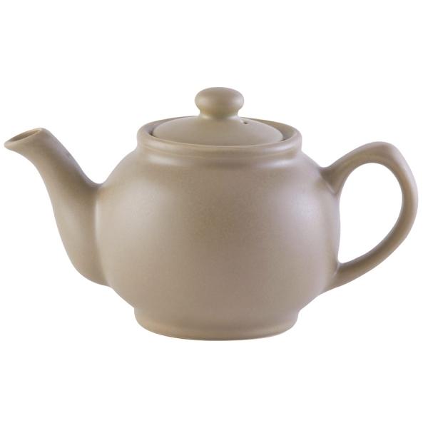 Чайник заварочный matt glaze 450 мл бежевый