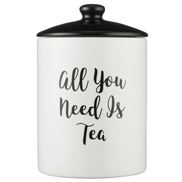 Емкость для хранения чая carnaby script 15,5х9,5 см