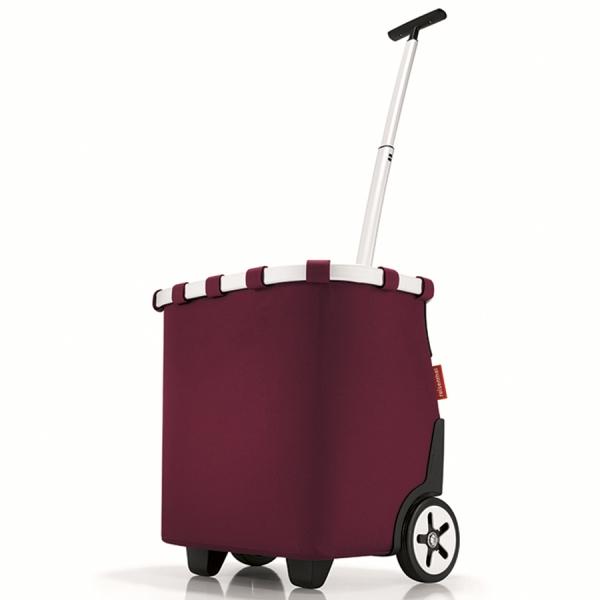 Сумка-тележка carrycruiser dark ruby