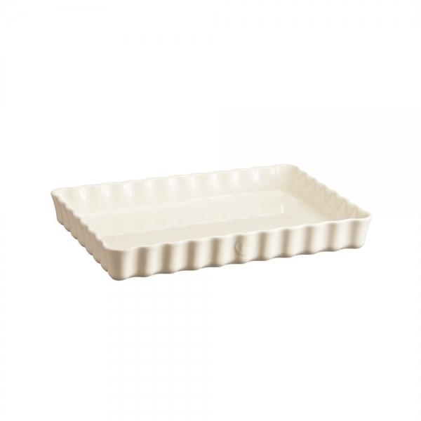 Форма для пирога прямоугольная, 24х34 см, Emile Henry Крем
