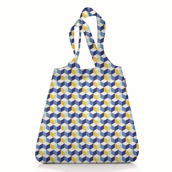 Сумка складная mini maxi shopper cubes blue