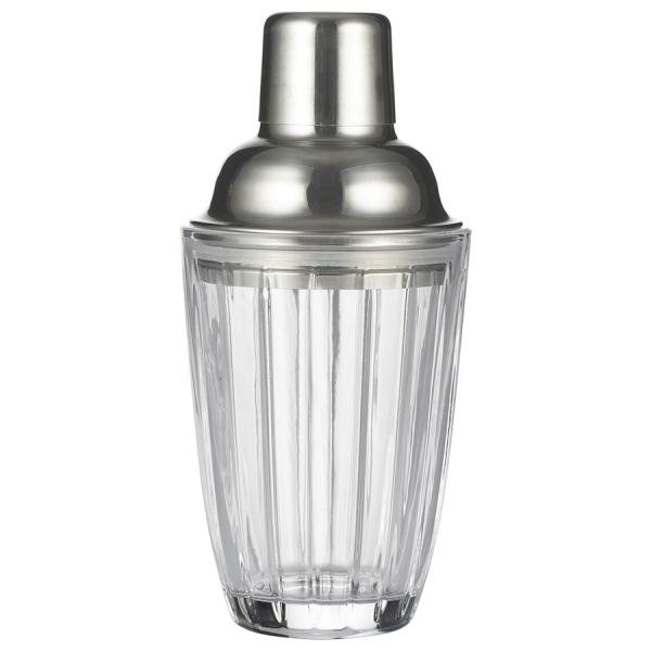 Шейкер для коктейлей barware стеклянный 280 мл