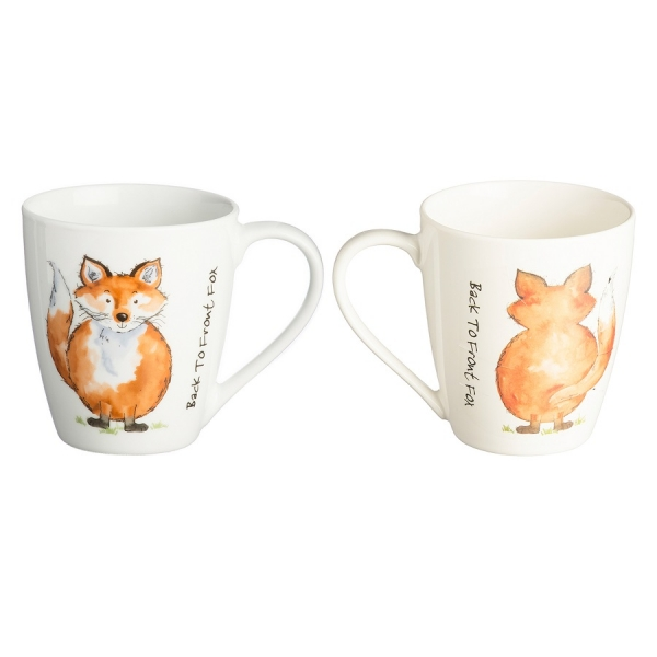 Чашка back to front fox