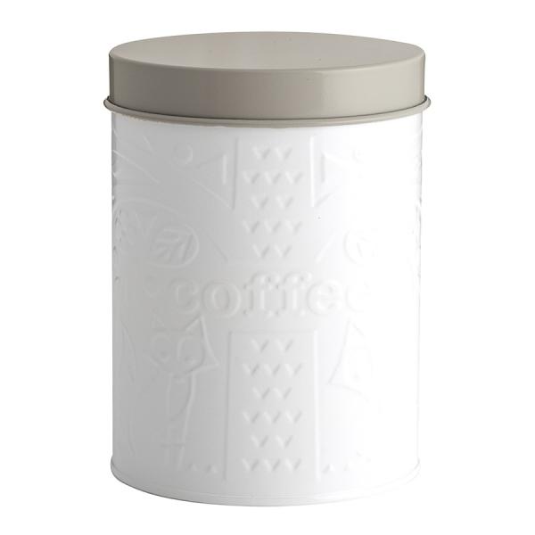 Емкость для хранения кофе in the forest белая-серая