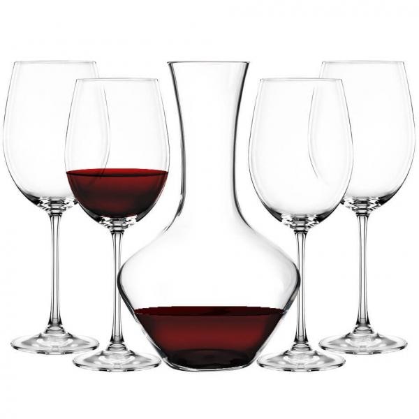 VIVENDI - Набор из Декантера и 4 бокалов для вина Nachtmann бессвинцовый хрусталь