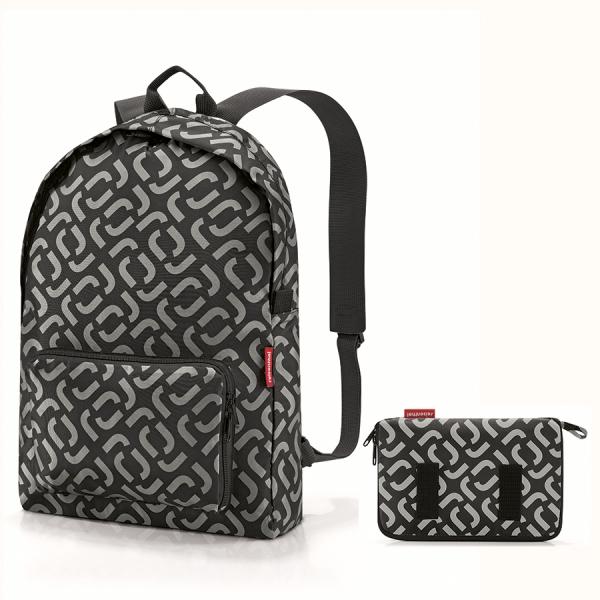 Рюкзак складной mini maxi signature black