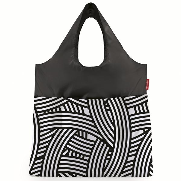 Сумка складная mini maxi shopper plus zebra