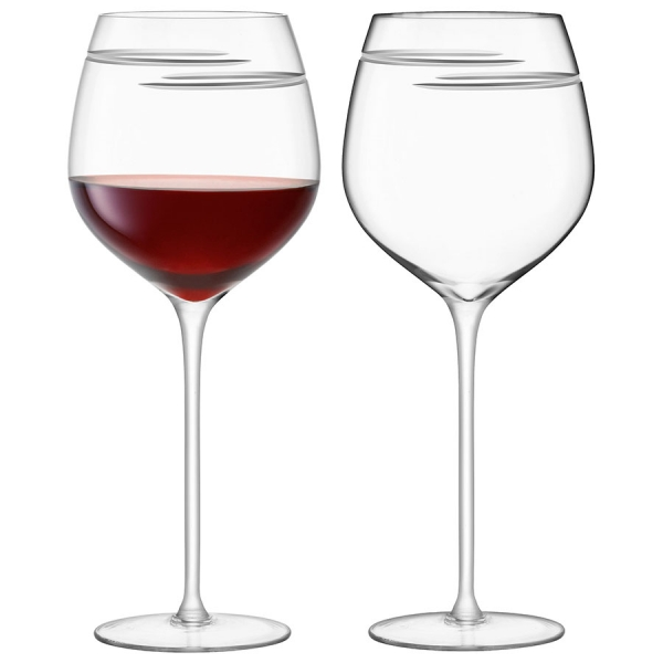 Набор из 2 бокалов для красного вина signature verso 750 мл