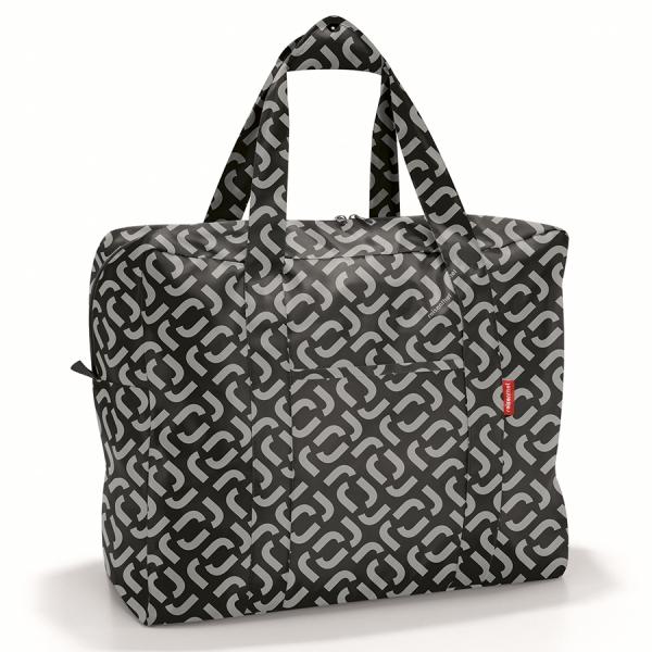 Сумка складная mini maxi touringbag signature black
