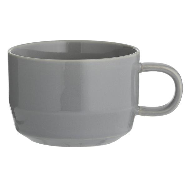 Чашка cafe concept 300 мл темно-серая