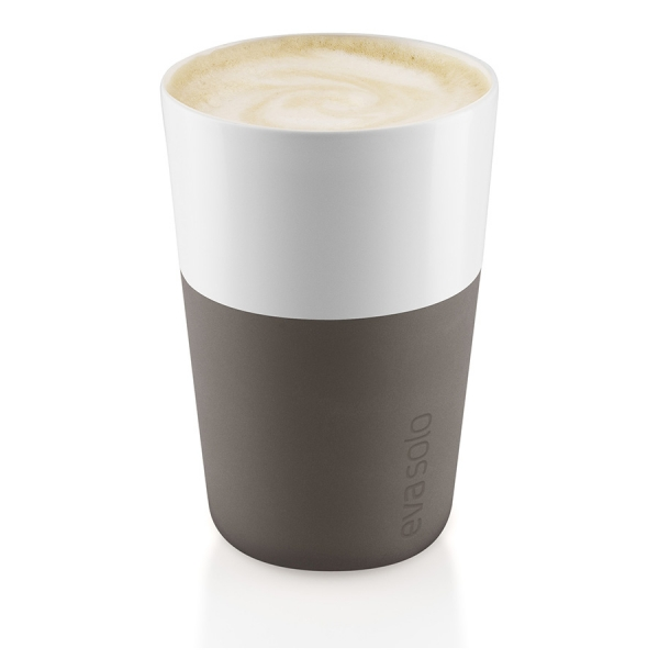 Чашки для латте 2 шт 360 мл taupe