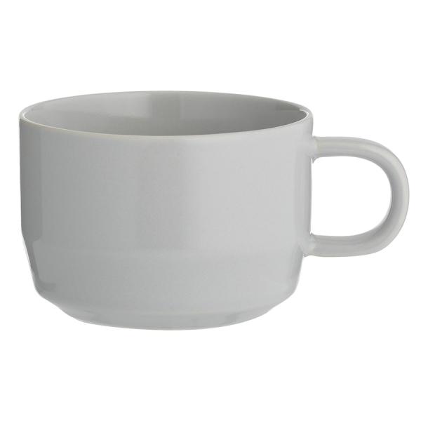 Чашка cafe concept 300 мл серая