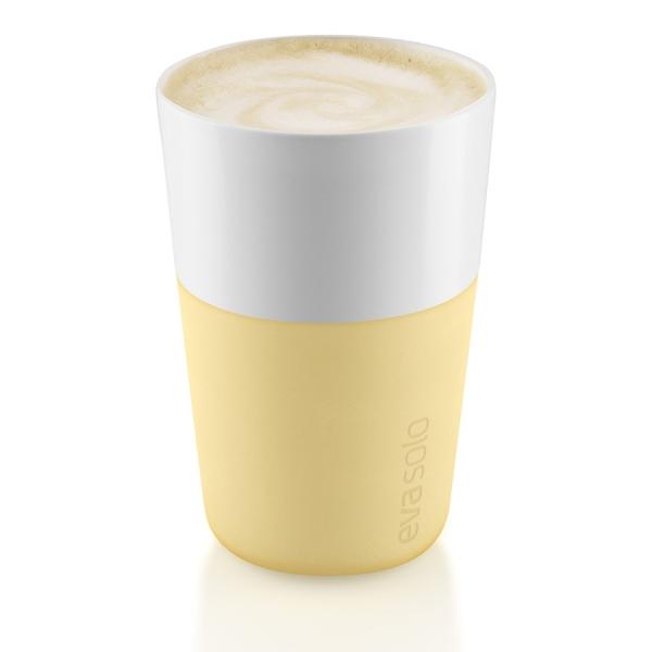 Чашки для латте 2 шт 360 мл lemon