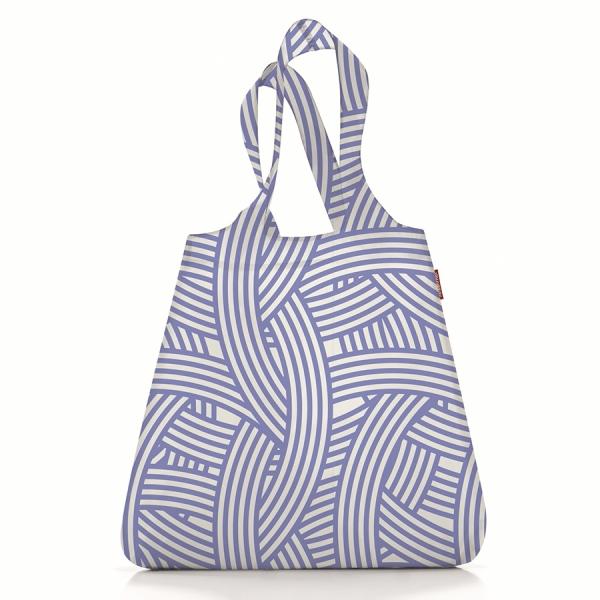 Сумка складная mini maxi shopper zebra blue