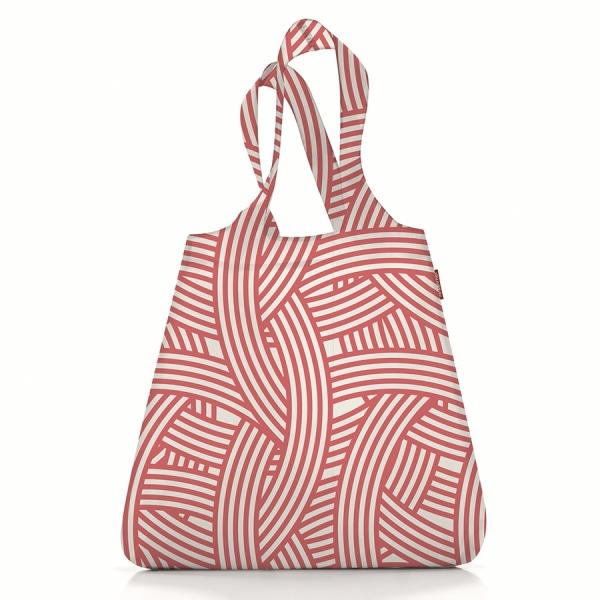 Сумка складная mini maxi shopper zebra pink