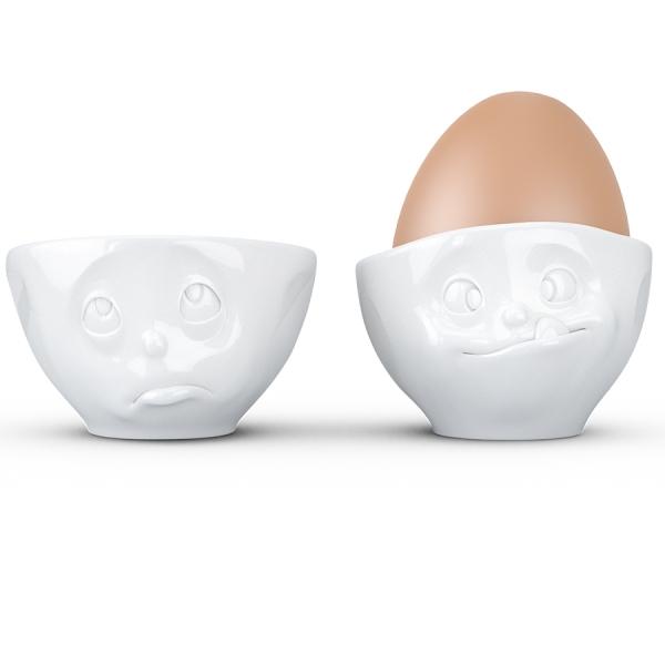 Набор из 2 подставок для яиц tassen oh please & tasty белый