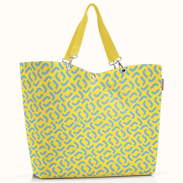 Сумка shopper xl signature lemon