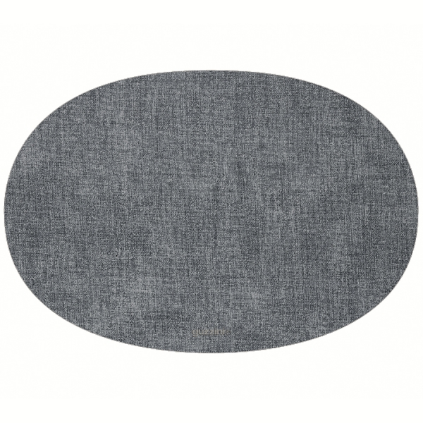 Салфетка подстановочная овальная двухсторонняя fabric синяя