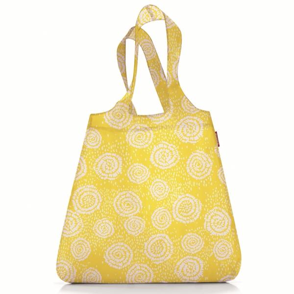 Сумка складная mini maxi shopper batik желтая