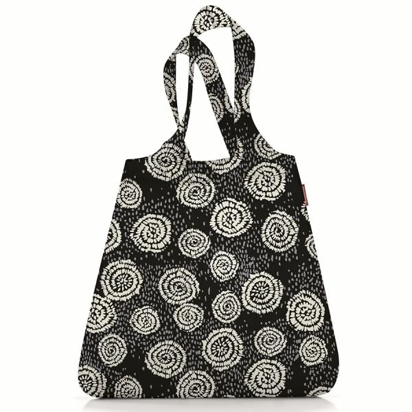 Сумка складная mini maxi shopper batik черная