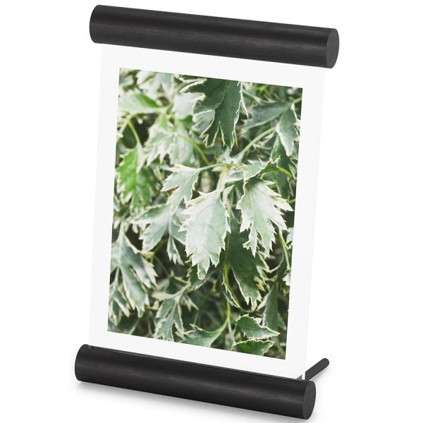 Фоторамка scroll, 14х18 см, черная