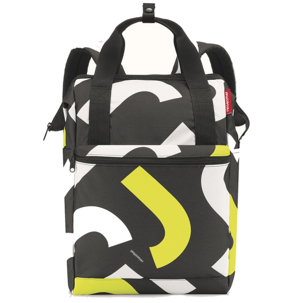 Рюкзак allrounder r large signature  bold yellow