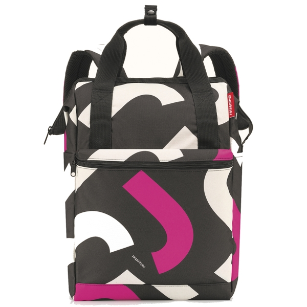 Рюкзак allrounder r large signature bold pink