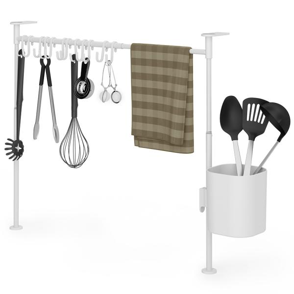 Органайзер кухонный anywhere, 20 крючков, белый