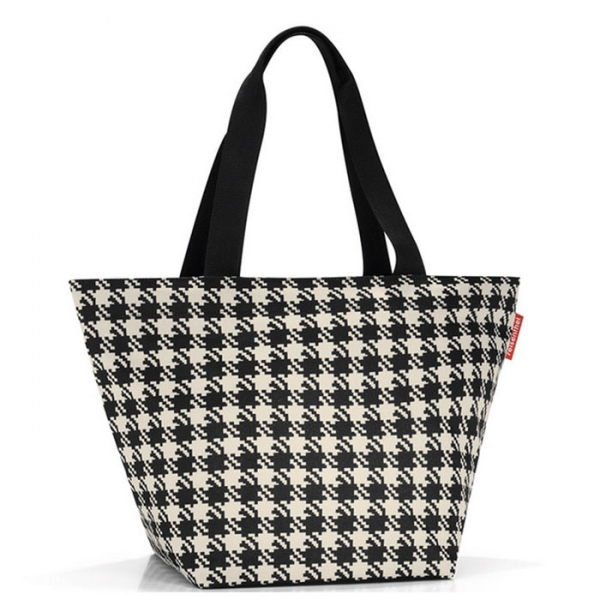 Сумка Shopper M fifties black Reisenthel