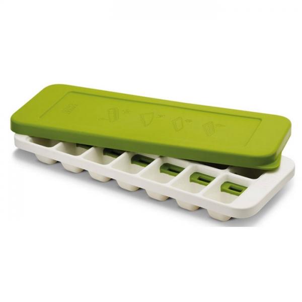 Форма для льда QuickSnap Plus зеленая/белая Joseph Joseph