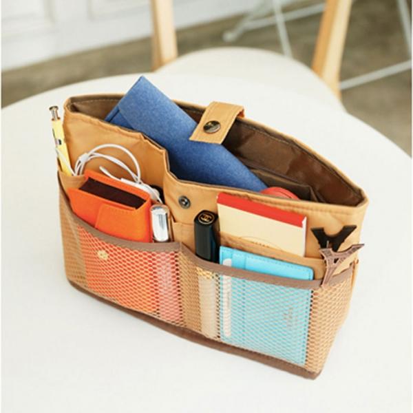 Органайзер для сумки малый  светло-оранжевый