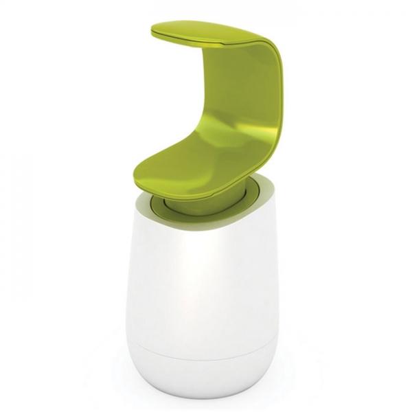 Диспенсер для мыла Joseph Joseph C-Pump™ белый/зеленый