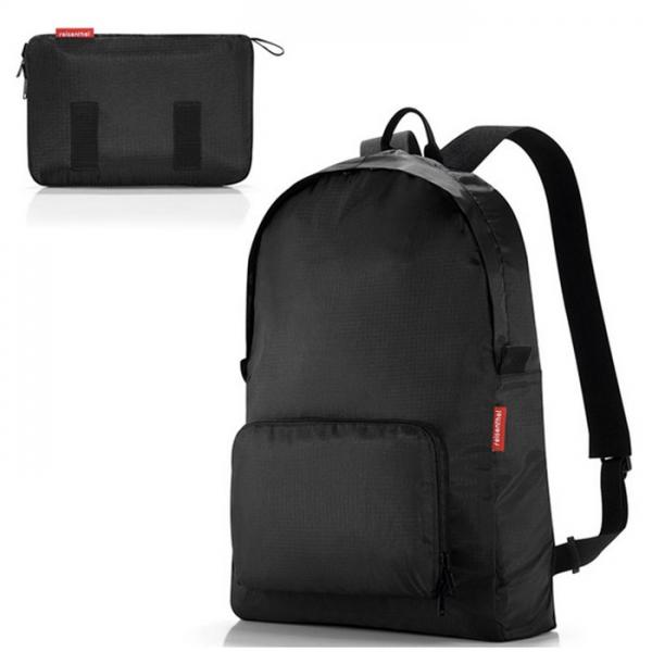 Рюкзак складной Mini maxi black Reisenthel