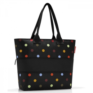 Сумка Shopper E1 dots Reisenthel